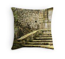 Hidden Garden-Bomarzo, Italy Throw Pillow