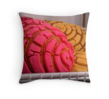 """Mexican Bakery Goodies"" Throw Pillow"