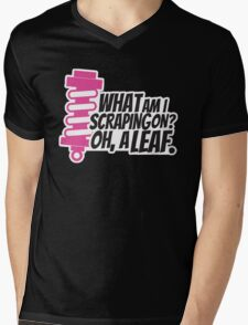 What am I scraping on? 3 Mens V-Neck T-Shirt