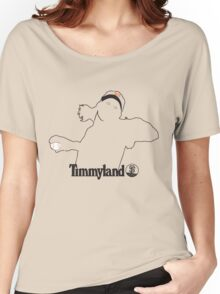 Timmyland SF Black Women's Relaxed Fit T-Shirt