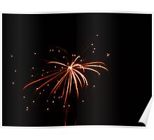 Firework in Santa Ana, Costa Rica, shot 3 Poster