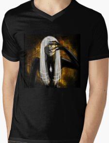 The Golden Eye Mens V-Neck T-Shirt