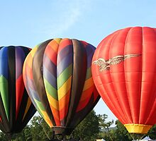 Balloons, Pretty maids all in a row! by Linda Jackson