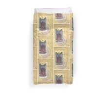 Justice Scales Tarot Card Fortune Teller Duvet Cover
