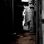 Another day, Another Alleyway (Partial Color) by Andrew Hillegass