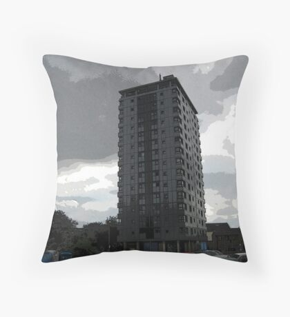 Leverton Gardens, London Road , Sheffield, UK Throw Pillow