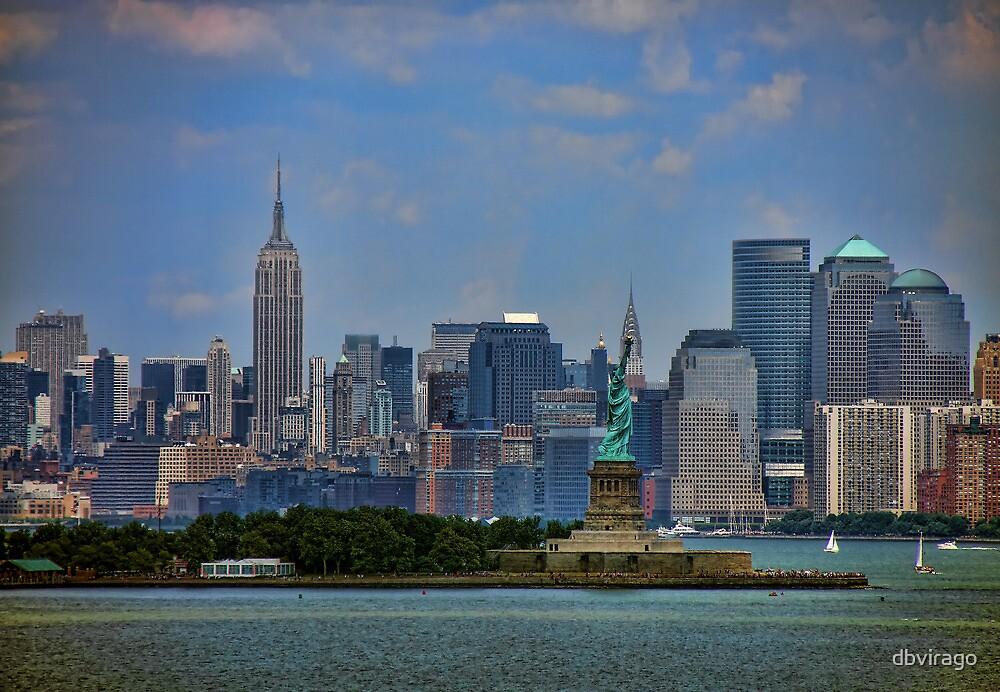 New York From Bay by dbvirago