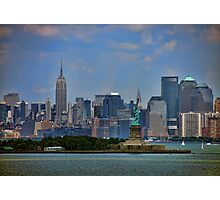 New York From Bay Photographic Print