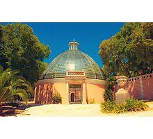 greenhouse. tapada das necessidades. lisboa Photographic Print