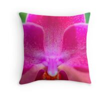 Orchid Love Throw Pillow