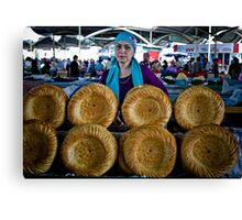 Bread Wheels Canvas Print