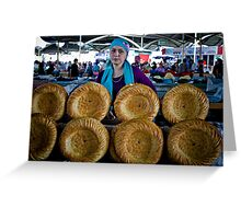 Bread Wheels Greeting Card