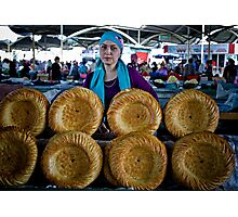 Bread Wheels Photographic Print