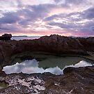 Evening At Kilcarnup Beach by Chris Paddick