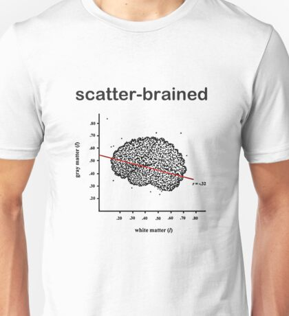 Scatter-Brained Unisex T-Shirt