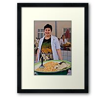 Beautiful Smile Framed Print