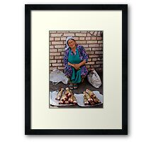 Off cuts.. Framed Print