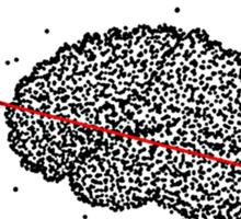 Scatter-Brained Sticker