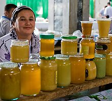 Honey seller by Gillian Anderson LAPS, AFIAP