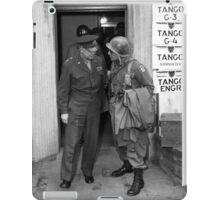 General Eisenhower and General Ridgway -- WWII iPad Case/Skin