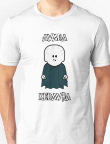 "Weenicons: Harry Potter - Voldemort ""Avada Kedavra"" Unisex T-Shirt"