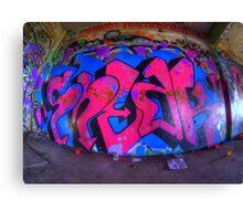 pink Sneak Canvas Print