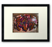 canvas sneak  Framed Print
