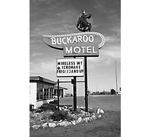Route 66 - Tucumcari, New Mexico Photographic Print