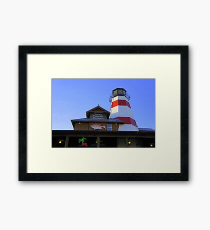 Seafood on the Pass Framed Print