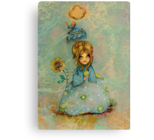 lady jane Canvas Print