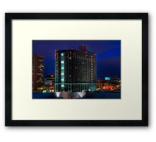 MGM Grand Detroit Framed Print