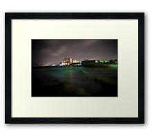 San Juan Bay Framed Print