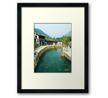 Serenity Of A River Framed Print