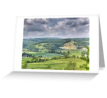 The Familiar Landscape of Home Greeting Card
