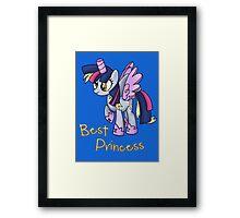 My Little Pony - MLP - Derpy is Best Princess Framed Print