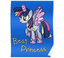 My Little Pony - MLP - Derpy is Best Princess Poster