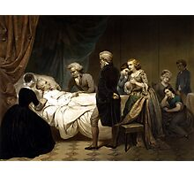 George Washington On His Deathbed Photographic Print