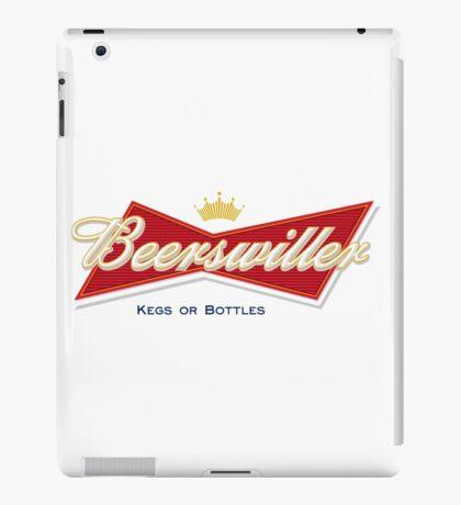 Beerswiller Funny Parody Logo iPad Case/Skin