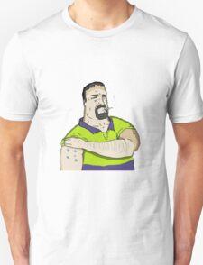 Big lez show Mike Nolan southern cross T-Shirt