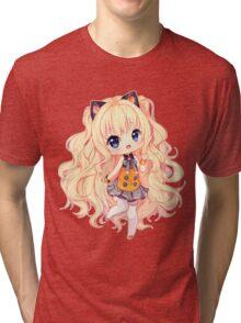 SeeU Hello hello! Tri-blend T-Shirt