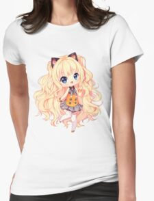 SeeU Hello hello! Womens Fitted T-Shirt