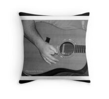Song Writers Night Throw Pillow