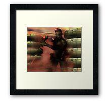 Xuvian Commando Framed Print