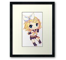 Kagamine Rin Framed Print