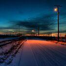 Raildusk by John Cruz