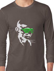 ISSA 2011 Gandhi Shades (Black) Long Sleeve T-Shirt