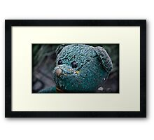 he'd laugh and sing and play Framed Print