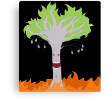 Vampire Fire Willow Tree (Designs4You) Canvas Print