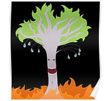 Vampire Fire Willow Tree (Designs4You) Poster