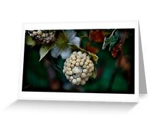clustered close Greeting Card